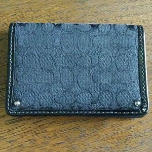 Coach Bags - Small Coach Wallet or Business card holder